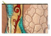Southwest Snakeskin Boots Carry-all Pouch