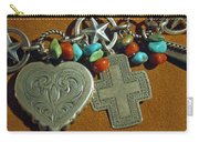 Southwest Style Jewelry With Texas Star Carry-all Pouch