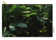 Soybean Leaves Carry-all Pouch