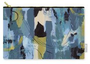 Spa Abstract 1 Carry-all Pouch by Debbie DeWitt