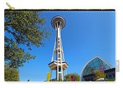 Space Needle In Seattle Washington  Carry-all Pouch