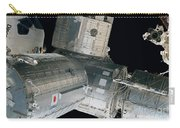 Space Shuttle Discovery And Components Carry-all Pouch