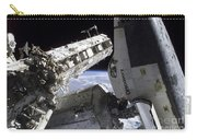 Space Shuttle Discovery Docked Carry-all Pouch