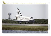 Space Shuttle Discovery On The Runway Carry-all Pouch
