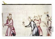 Spain: Medieval Ballgame Carry-all Pouch
