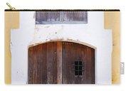 Spanish Fort Door Castillo San Felipe Del Morro San Juan Puerto Rico Prints Carry-all Pouch