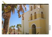 Spanish Mission In Todos Santos Carry-all Pouch