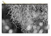Spanish Moss Monochrome Carry-all Pouch