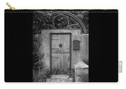 Spanish Renaissance Courtyard Door Carry-all Pouch
