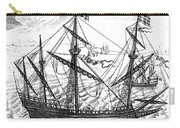 Spanish Ship, C1595 Carry-all Pouch