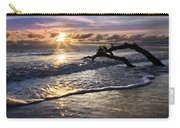 Sparkly Water At Driftwood Beach Carry-all Pouch