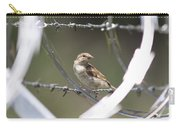 Sparrow - Protected By Razor Wire Carry-all Pouch