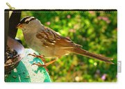 Sparrow In Morning Light  Carry-all Pouch