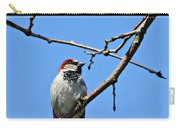 Sparrow On The Branch Carry-all Pouch
