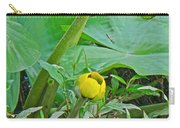 Spatterdock Wild Yellow Water Lily - Nuphar Lutea Carry-all Pouch