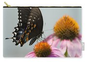 Spicebush Butterfly On Echinacea Carry-all Pouch