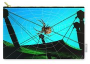 Spider On The Olympic Roof Carry-all Pouch