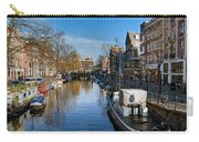 Spiegelgracht And Ship Amsterdam Carry-all Pouch