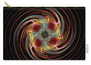 Spin Fractal Carry-all Pouch