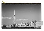 Spinnaker Tower And Round Tower Portsmouth Bw Carry-all Pouch
