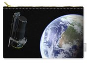 Spitzer Departing The Earth Carry-all Pouch