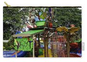 Splash Zone Inside The Jurong Bird Park In Singapore Carry-all Pouch
