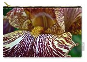 Splashed Iris Carry-all Pouch
