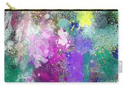 Splattered Colors Abstract Carry-all Pouch