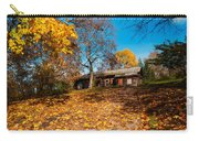 Splendor Of Autumn. Wooden House Carry-all Pouch