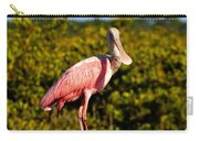 Spoonbill Carry-all Pouch by David Lee Thompson