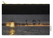 Spoonbill Gold Carry-all Pouch