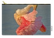 Spoonbill Preening Carry-all Pouch