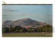 Sport Complex And The Butte Carry-all Pouch by Robert Bales