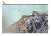 Spotted Auger Seashell Carry-all Pouch by Betty LaRue