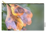 Spotted Oak Leaves In Autumn Carry-all Pouch