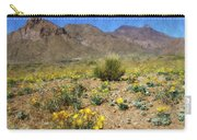 Spring Bloom Franklin Mountains Carry-all Pouch
