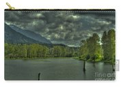 Spring Clouds At The Nicomen Slough Carry-all Pouch