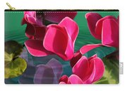 Spring Cyclamen Carry-all Pouch
