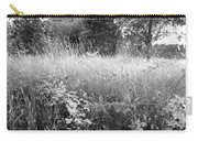 Spring Field Black And White Carry-all Pouch