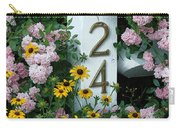 Spring Flowers And Fencepost Carry-all Pouch
