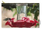 Spring Hummingbird At Feeder Carry-all Pouch