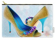 Spring In Your Step Pumps Carry-all Pouch