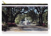 Spring Walk Through Forsyth Park Carry-all Pouch
