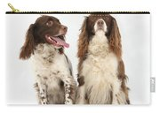 Springer Spaniels Carry-all Pouch