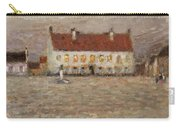 Square - Fort-philippe Carry-all Pouch by Henri Eugene Augustin Le Sidaner