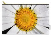 Square Daisy - Close Up Carry-all Pouch