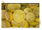 Squeezed Key Lime Halves Carry-all Pouch