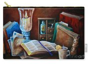 Srb Candlelit Library Carry-all Pouch