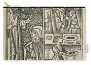 St. Catherine, Italian Philosopher Carry-all Pouch by Science Source