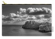 St Catherines Rock Tenby Carry-all Pouch by Steve Purnell
